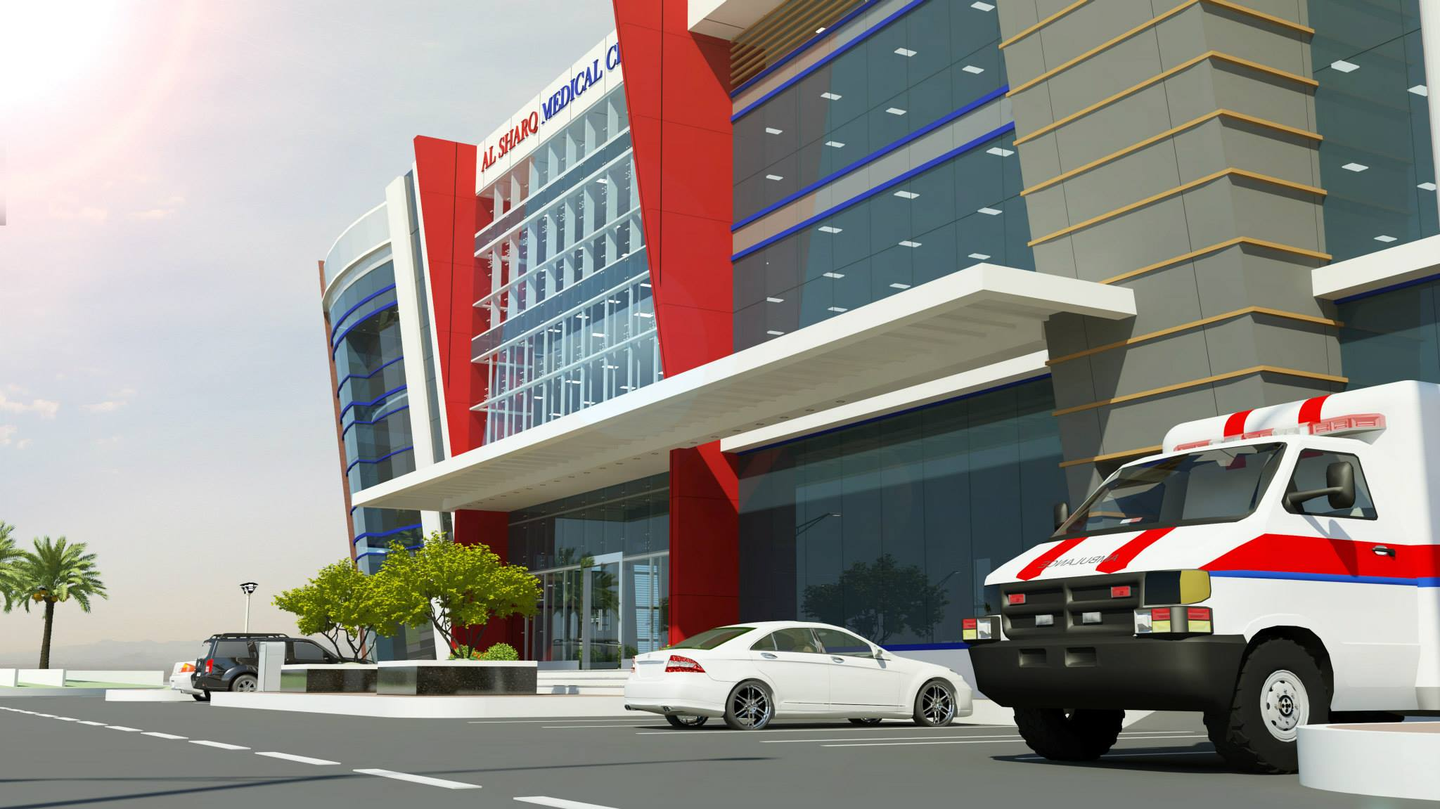 Port Of Fujairah Clinic & Office Building 7