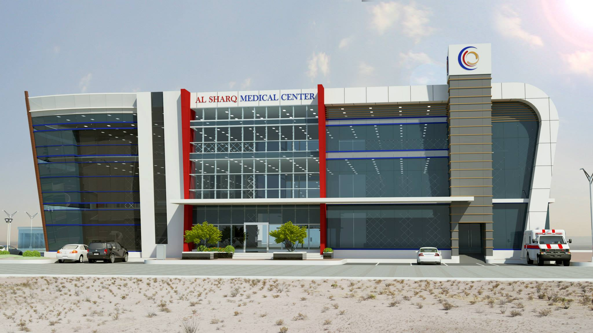 Port Of Fujairah Clinic & Office Building 6