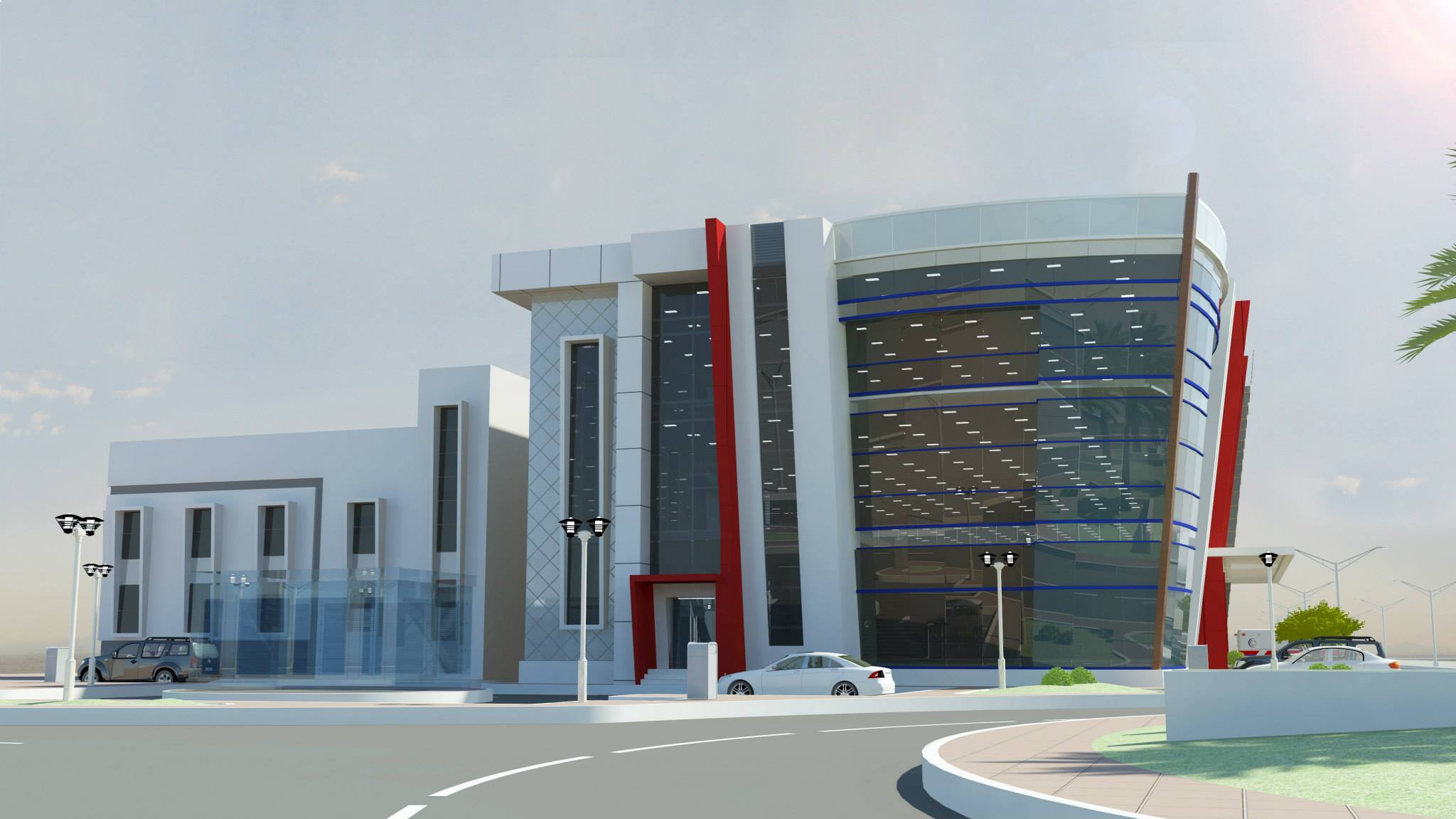 Port Of Fujairah Clinic & Office Building 3
