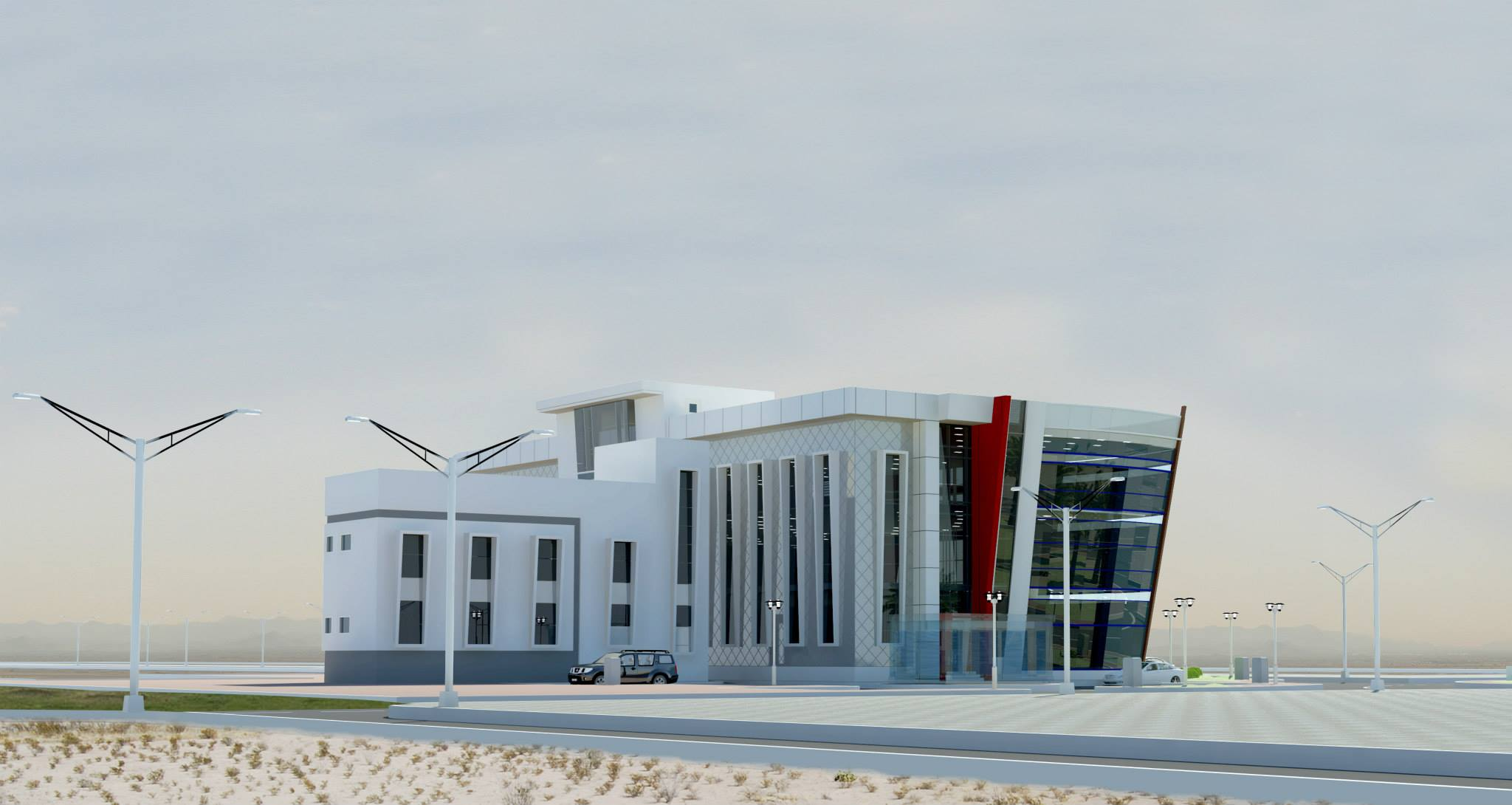 Port Of Fujairah Clinic & Office Building 9