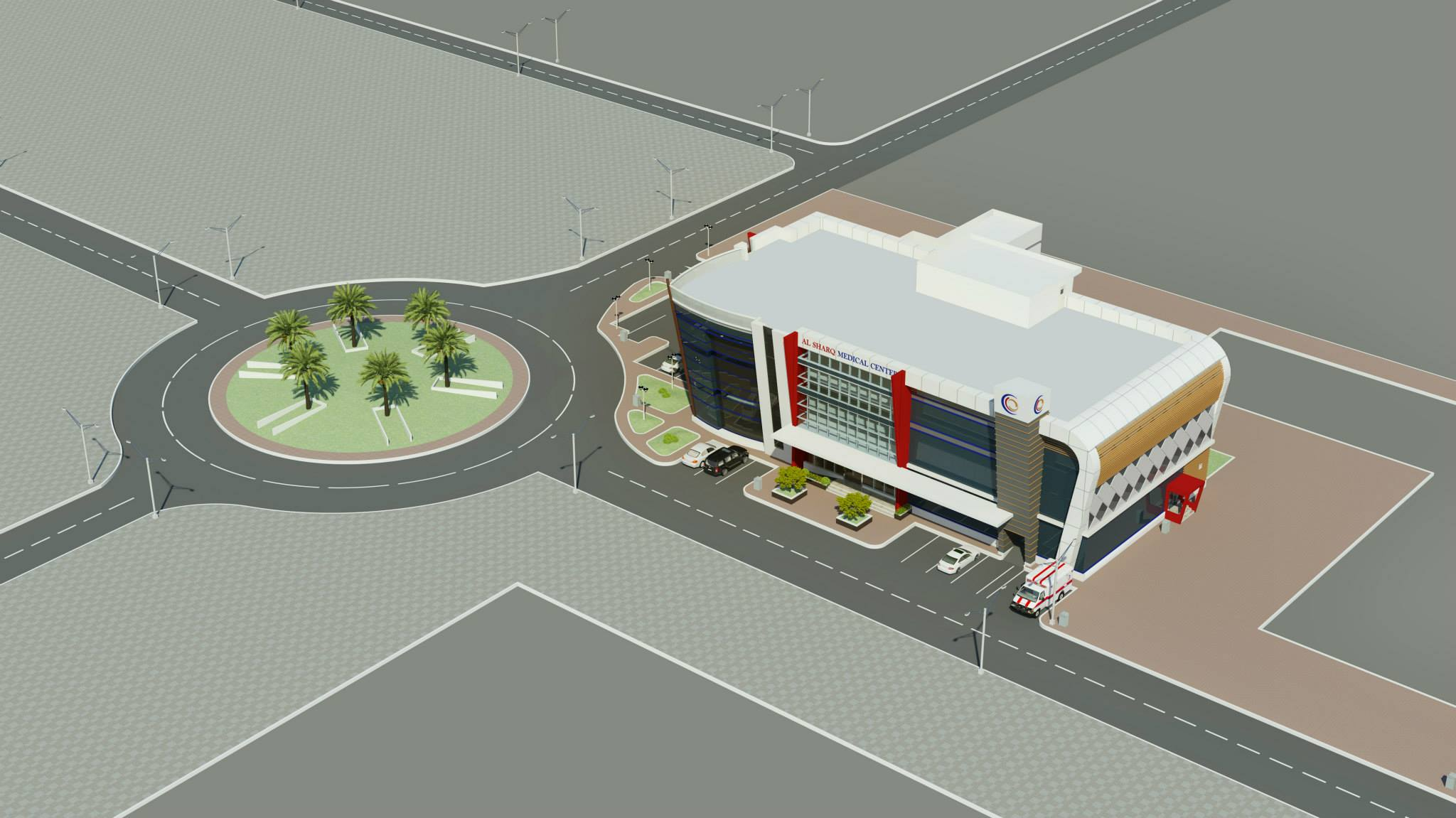 Port Of Fujairah Clinic & Office Building 11