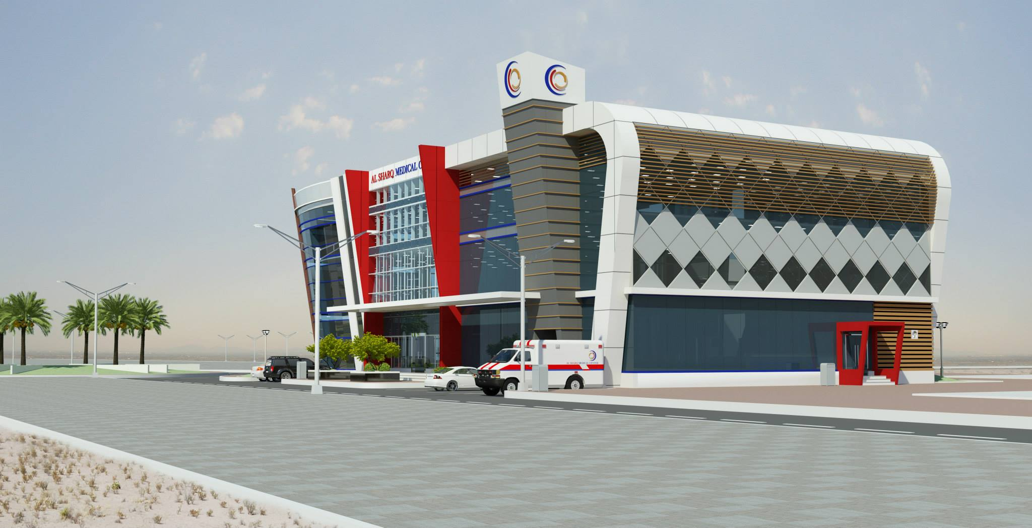 Port Of Fujairah Clinic & Office Building 13