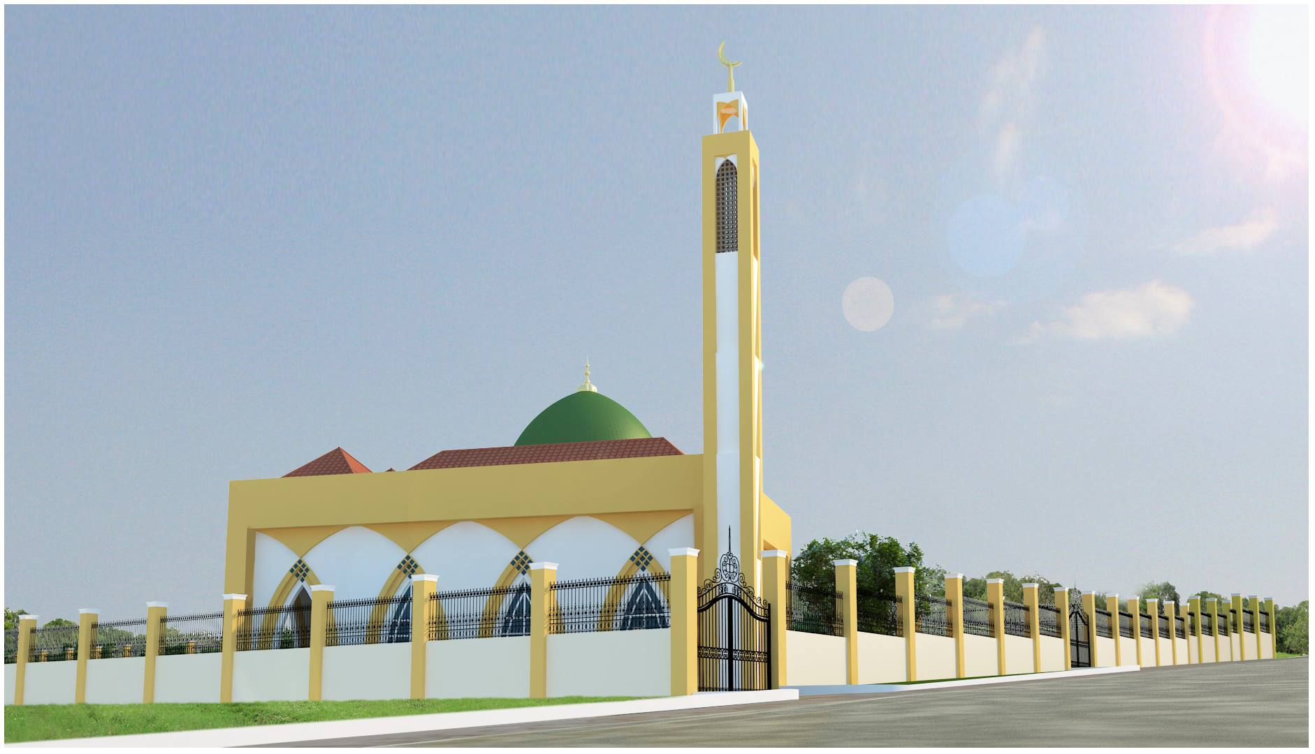 Masjid Al Amal, Tarlac Philippines 1