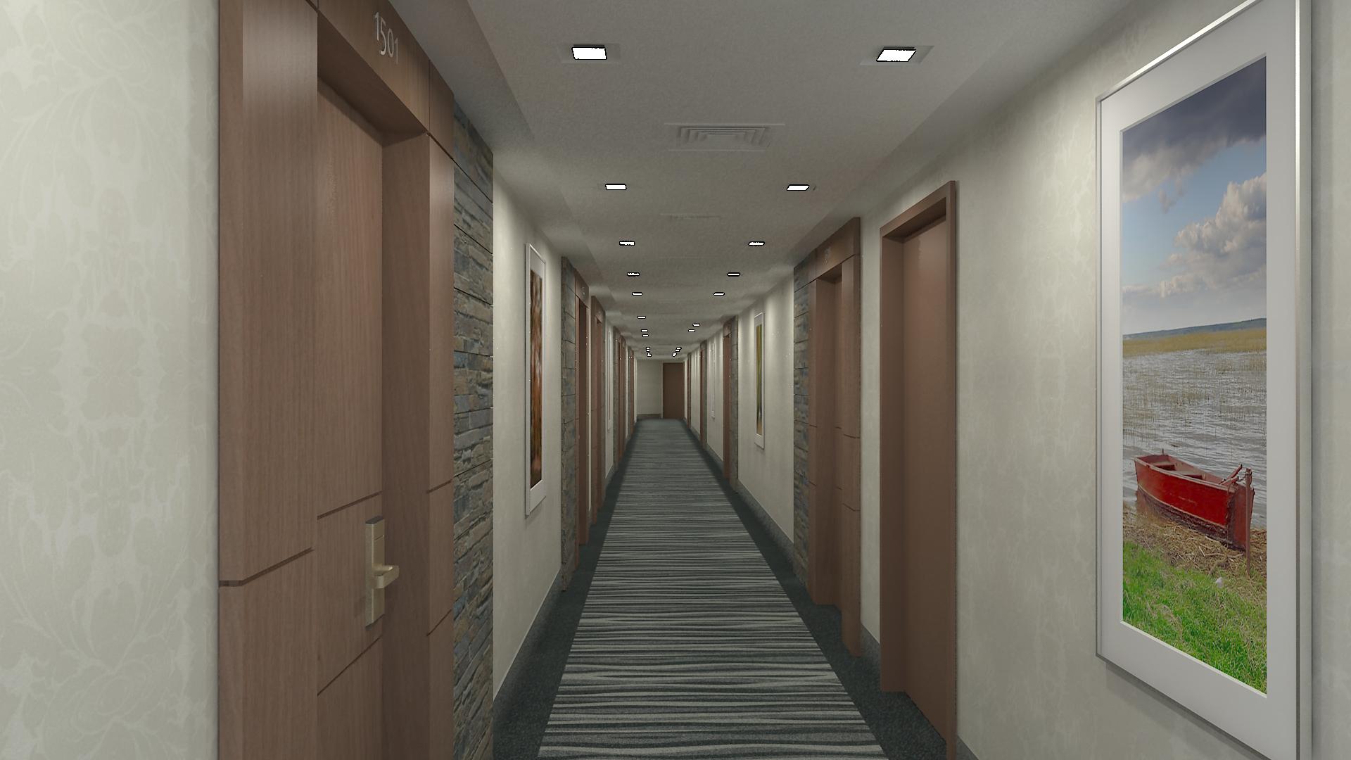 Novotel Typical Corridor 01