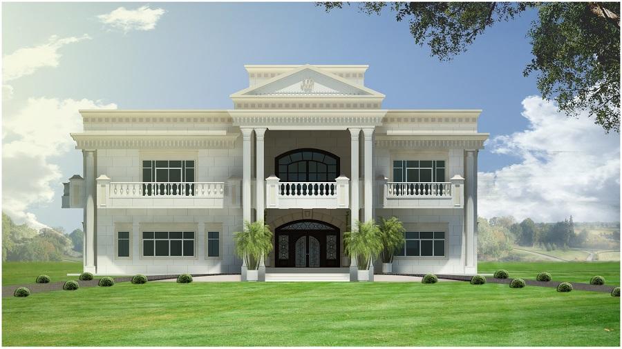 Front Elevation Villas Dubai : Villa elevation uae joy studio design gallery best