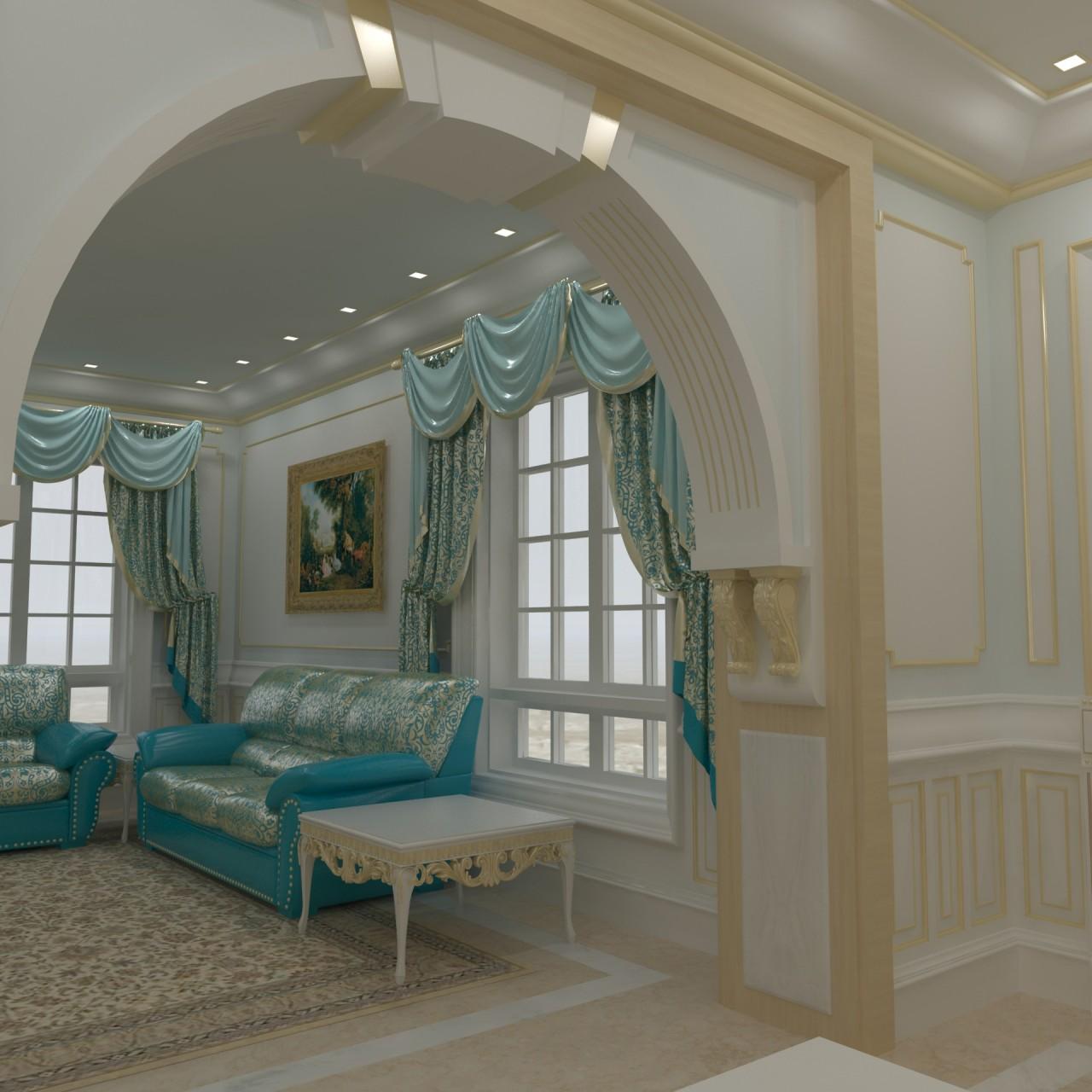 Ground Floor Suite Living room 01