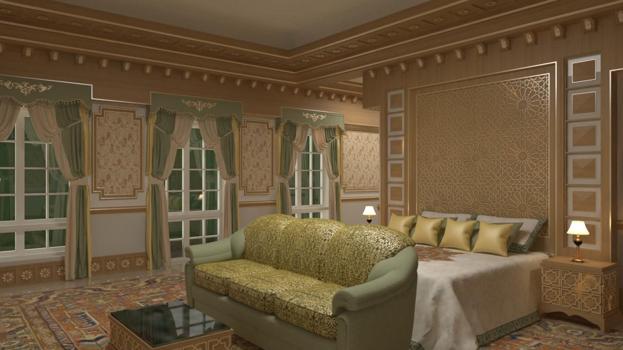 H.H. Shk. Saleh Bedroom 01