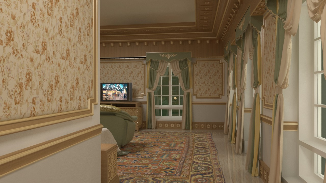 H.H. Shk. Saleh Bedroom 02