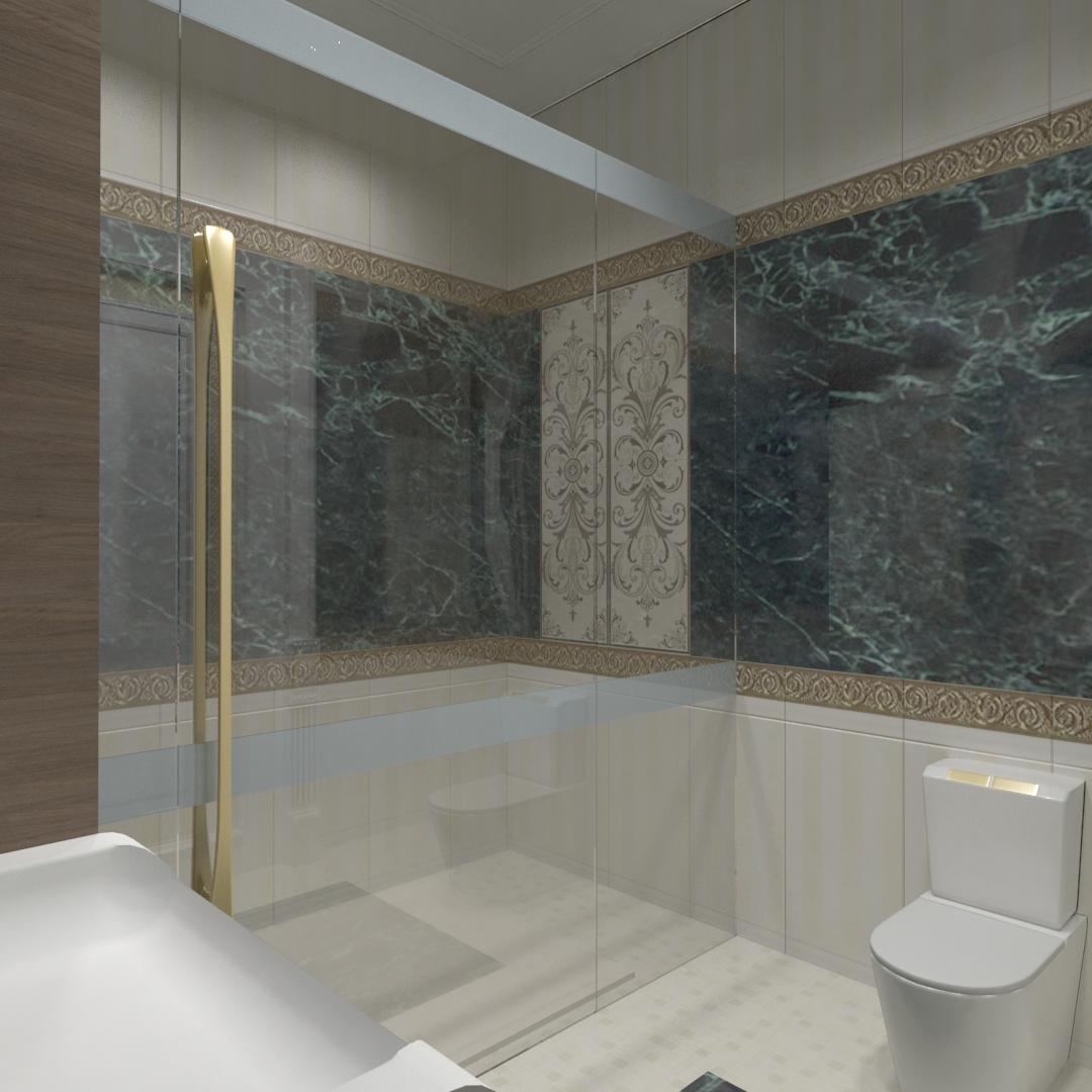 Suite 1 Bathroom 01