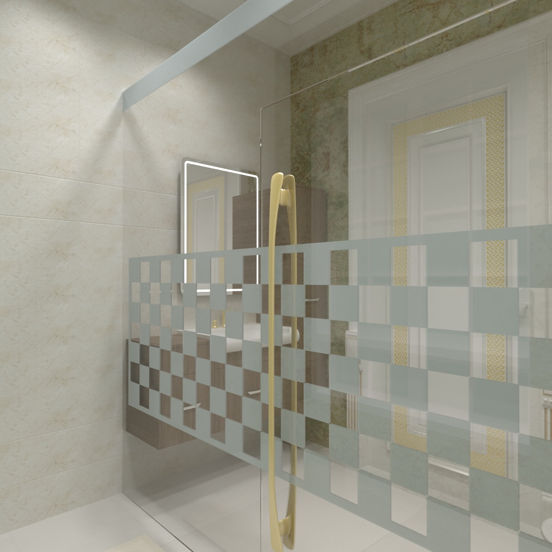 Suite 3 Bathroom 01