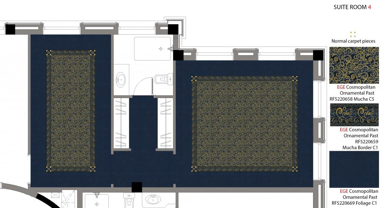 Suite 4 Carpet Plan And Details