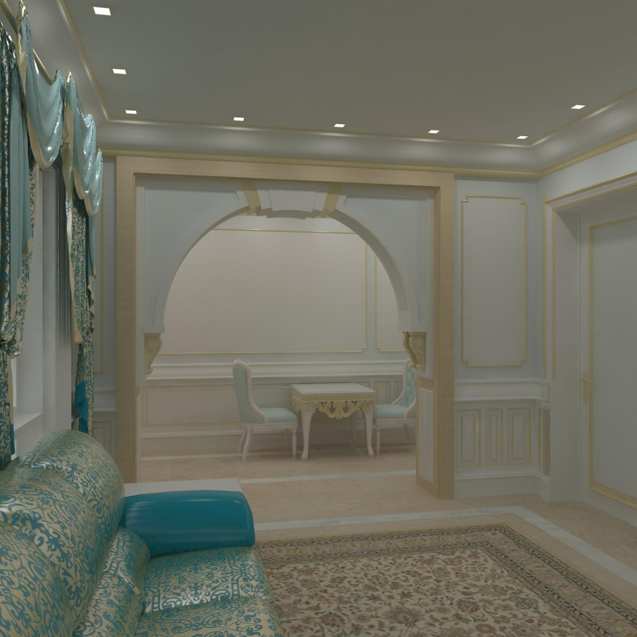 ground Floor Suite Living room 02