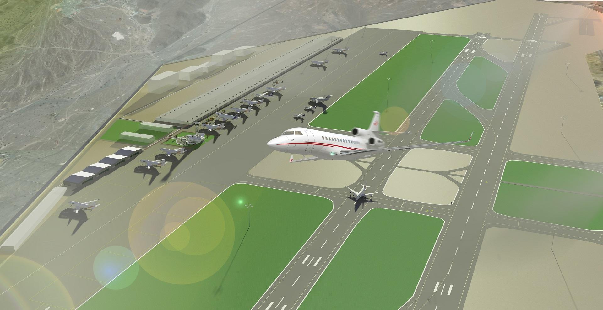 FIA Control Air View