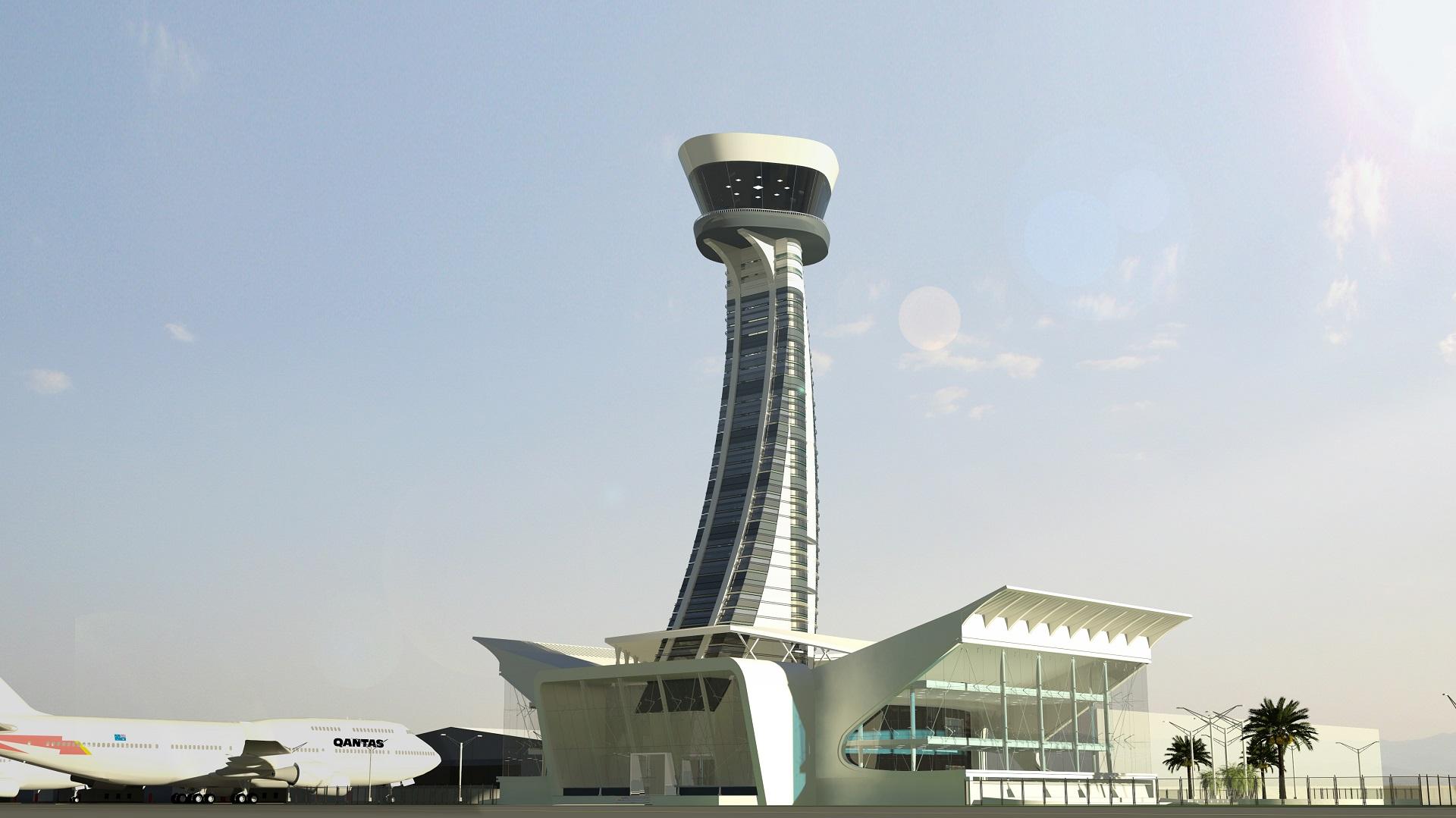 FIA Control AirSide View