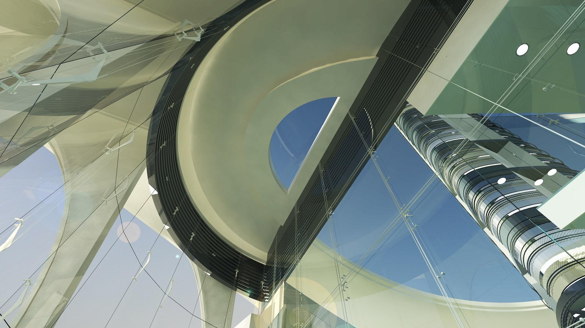 FIA Control LandSide Entrance Interior View