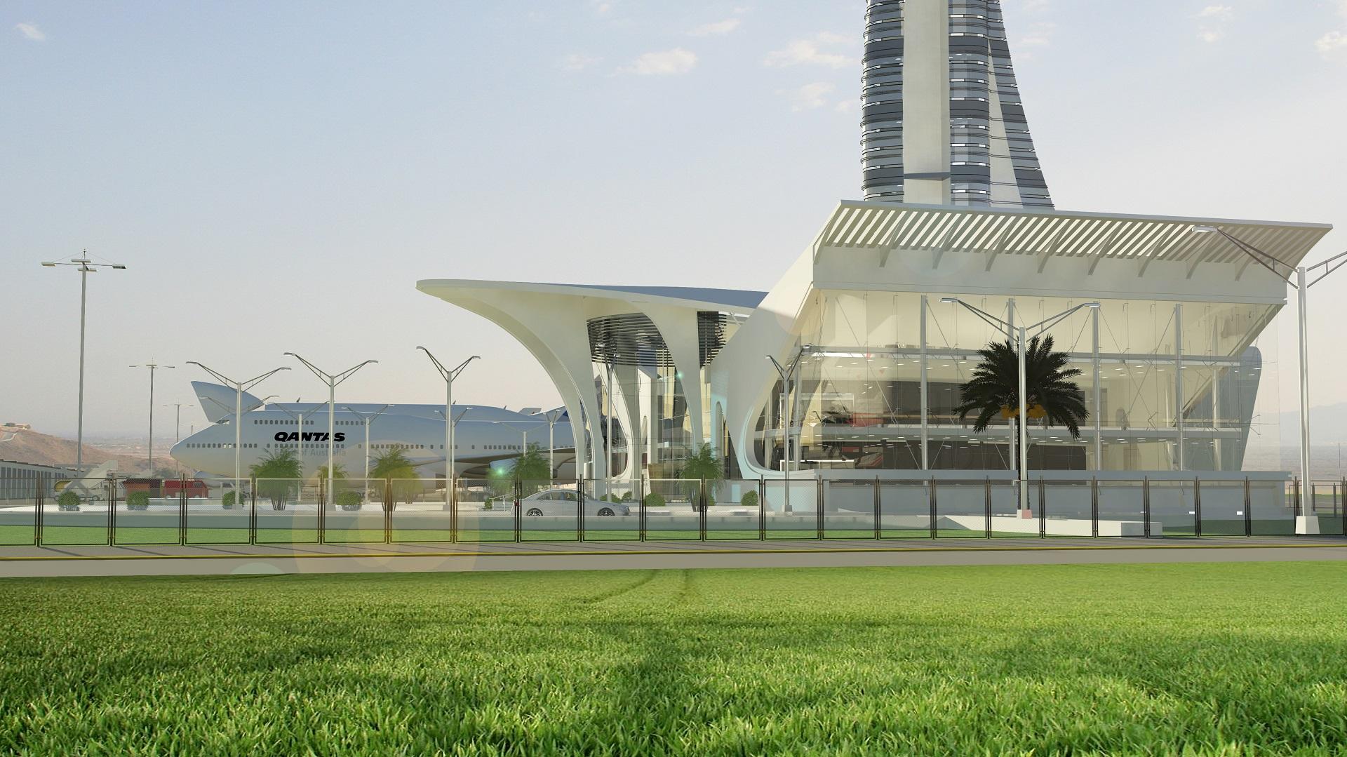 FIA Control LandSide Entrance