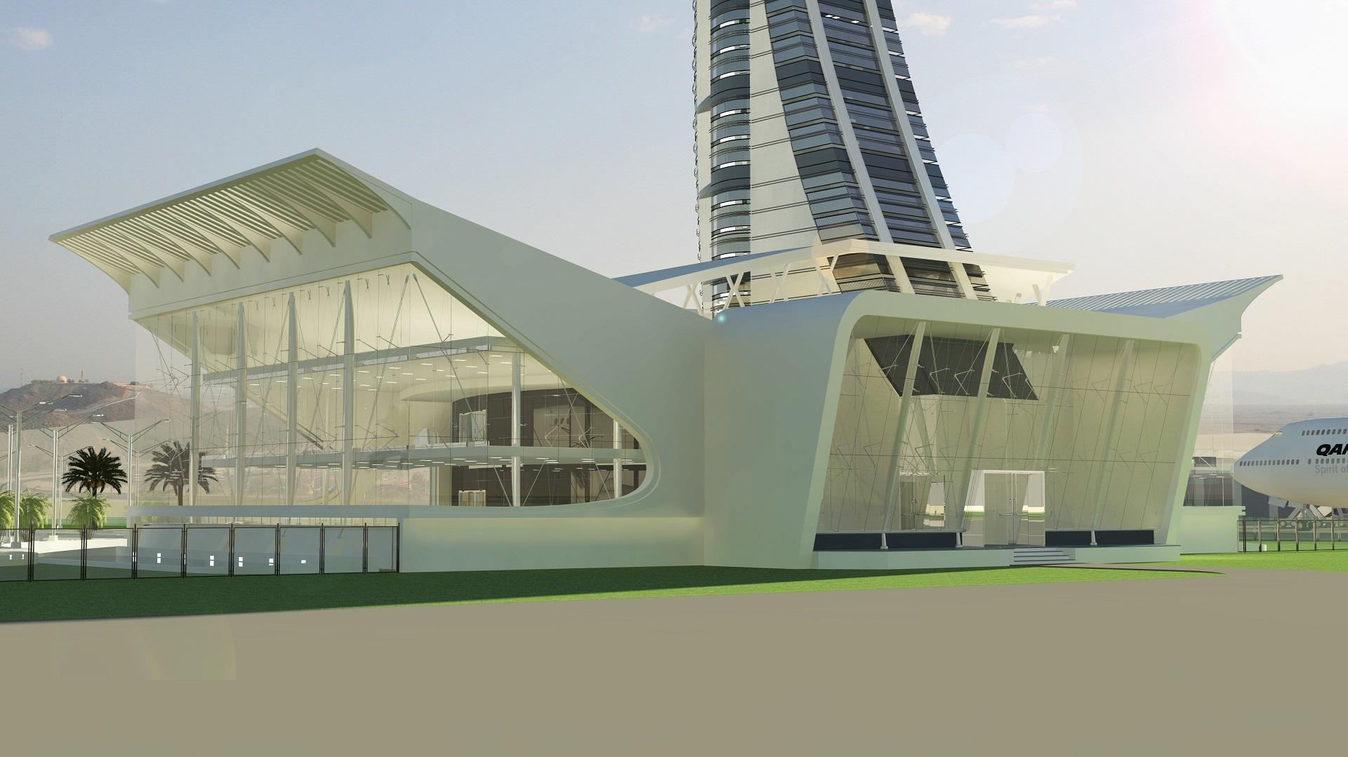 FIA Control Office Block AirSide