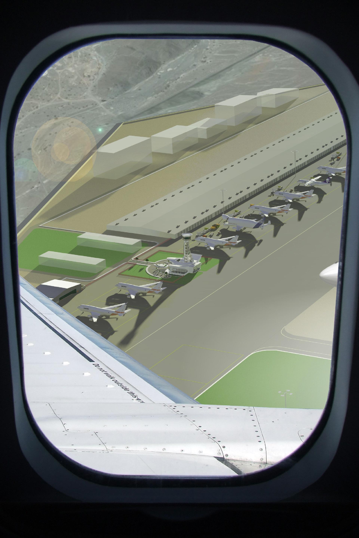 FIA Control Plane Inside Air View