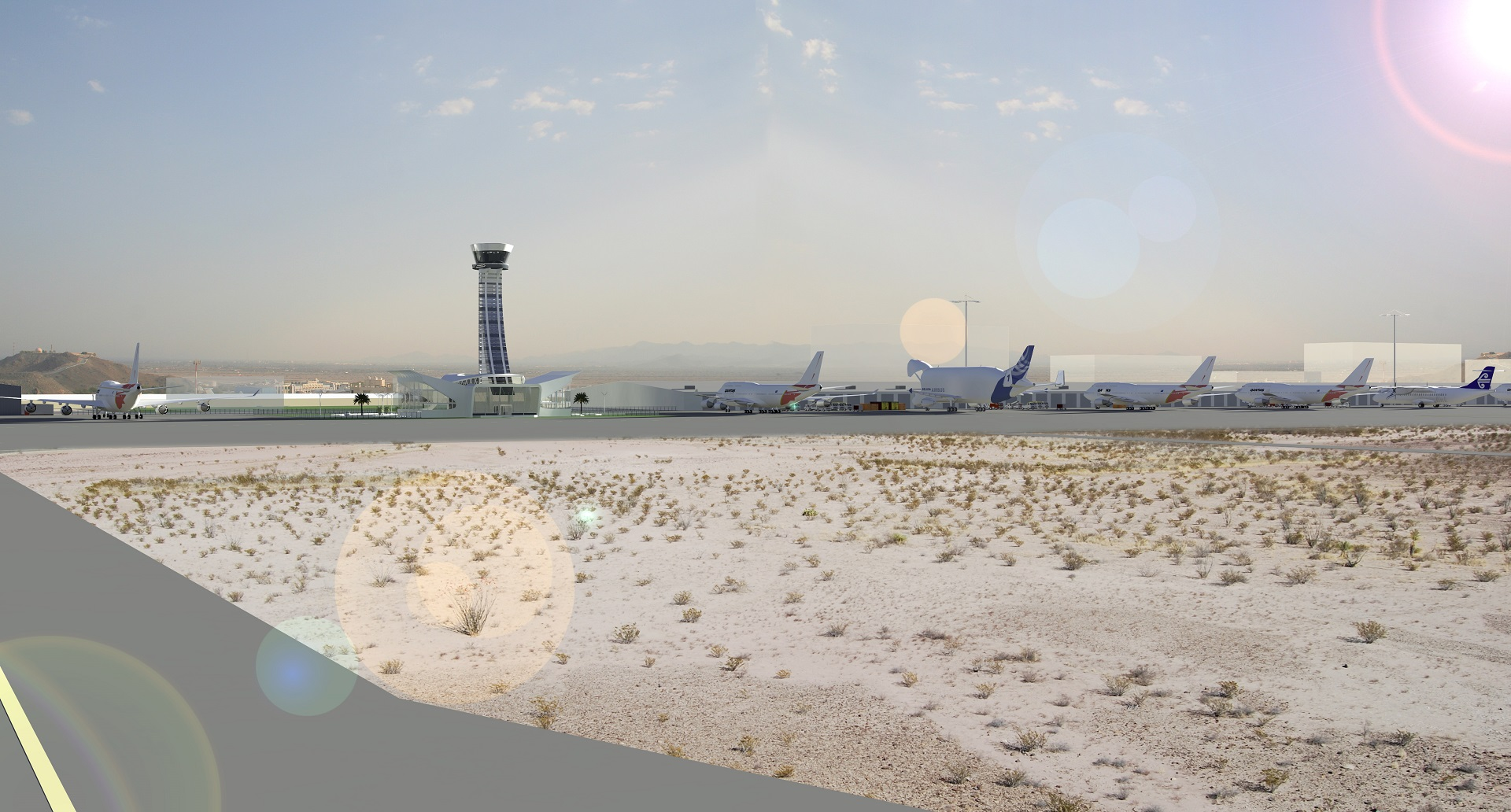 FIA Control Runway View