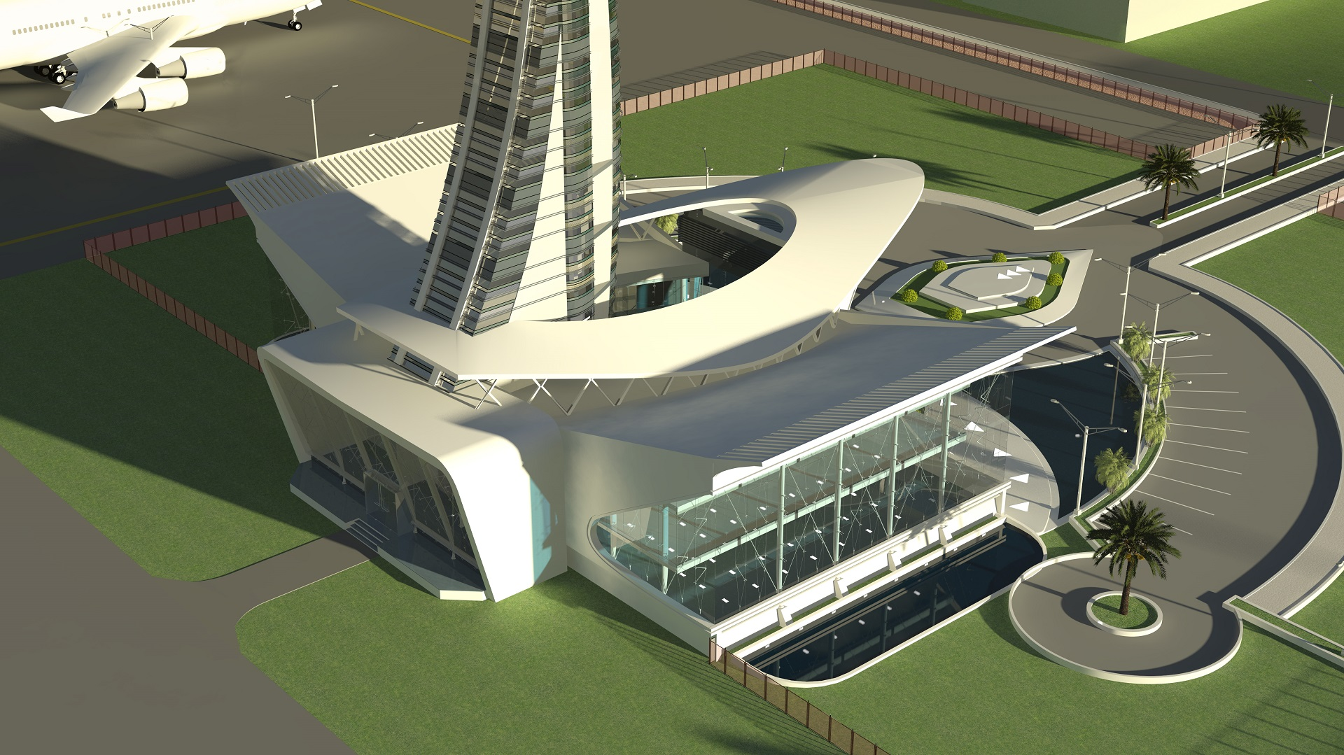 FIA Control Top View Air Entrance