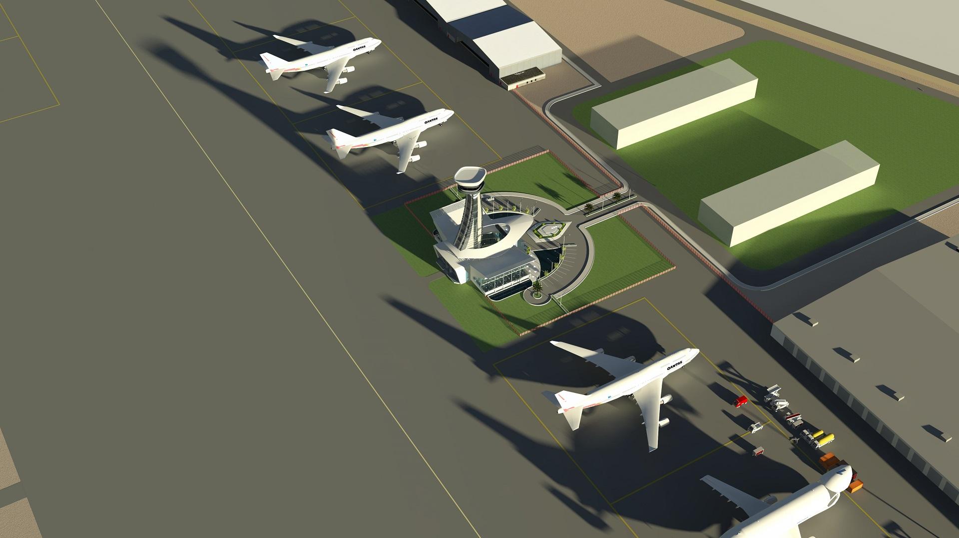 FIA Control Top View Air